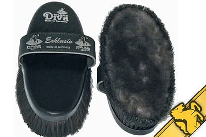 Diva horse brush by Haas Germany