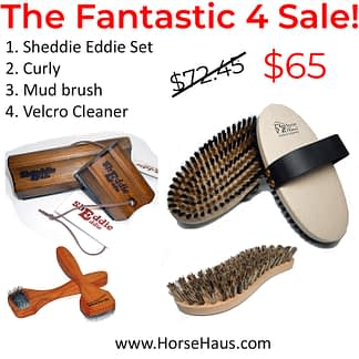 shedding tools for horses